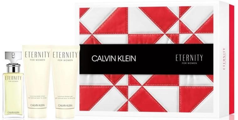 Calvin Klein Eternity For Women - Set (edp/50 ml + b/lot/100 ml + sh/gel/100 ml)