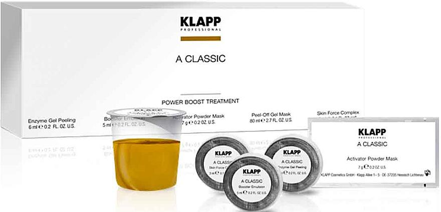 Set - Klapp A Classic (peel/6ml + f/booster/5ml + f/mask/7g + f/mask/80ml + complex/3ml) — foto N1