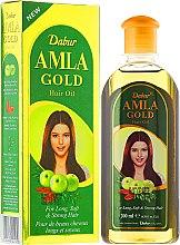 """Profumi e cosmetici Olio capelli """"Dorato"""" - Dabur Amla Gold Hair Oil"""
