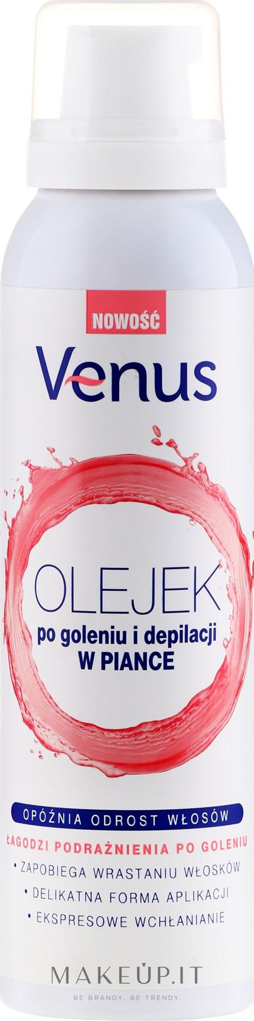 Schiuma-olio & olio post depilazione - Venus After Shave & Depilation Oil — foto 150 ml