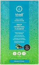 "Profumi e cosmetici Maschera per capelli ""Amla"" - Khadi Deep Charcoal Cleanse Haar Maske"