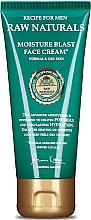 Profumi e cosmetici Crema idratante - Recipe For Men RAW Naturals Moisture Blast Face Cream