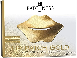 Profumi e cosmetici Patch labbra - Patchness Lip Patch Gold