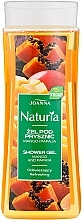 "Profumi e cosmetici Gel doccia ""Mango e papaia"" - Joanna Naturia Mango and Papaya Shower Gel"
