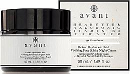 Profumi e cosmetici Crema notte all'acido ialuronico - Avant Skincare Deluxe Hyaluronic Acid Night Cream