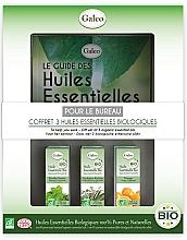 """Profumi e cosmetici Set di oli essenziali """"Per l'ufficio"""" - Galeo To Help You Work Gift Set (ess/oil/3x10ml)"""