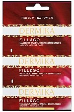 "Profumi e cosmetici Maschera contorno occhi levigante ""Fill & Go"" - Dermika Mask With a Wrinkle-Filler"