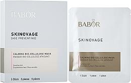 Profumi e cosmetici Maschera biocellulare per pelle sensibile - Babor Skinovage Calming Bio-Cellulose Mask