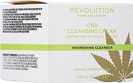 Profumi e cosmetici Crema viso detergente - Revolution Skincare CBD Cleansing Cream