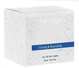 Profumi e cosmetici Crema rassodante e nutriente da notte - Dr. Sea Firming & Nourishing Night Cream