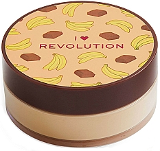 "Profumi e cosmetici Cipria sfusa ""Banana e cioccolato"" - I Heart Revolution Loose Baking Powder Chocolate Banana"