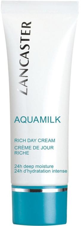 Crema viso nutriente - Lancaster Aquamilk Rich Day Cream Riche — foto N1