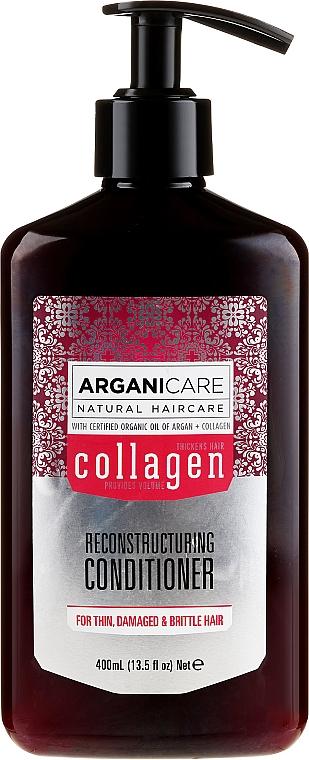 Balsamo capelli al collagene - Arganicare Collagen Reconstructuring Conditioner — foto N1