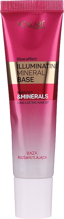 Base trucco illuminante - Vollare Glow Effect Illuminating Mineral Base