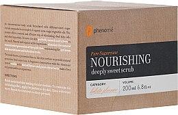 Profumi e cosmetici Scrub corpo nutriente allo zucchero - Phenome Pure Sugarcane Nourishing Deeply Sweet Scrub