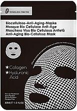 Profumi e cosmetici Maschera anti-età - Timeless Truth Anti-Aging Bio-Cellulose Mask