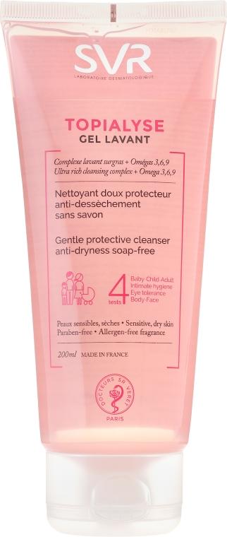 Gel detergente per pelli secche e sensibili - SVR Topialyse Gel Lavant