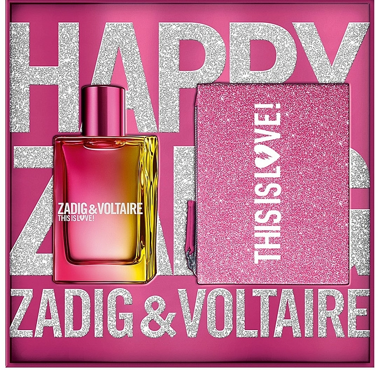 Zadig & Voltaire This is Love! for Her - Set (edp/50ml + bag) — foto N1