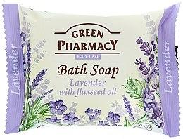 """Profumi e cosmetici Sapone """"Lavanda con olio di lino """" - Green Pharmacy"""