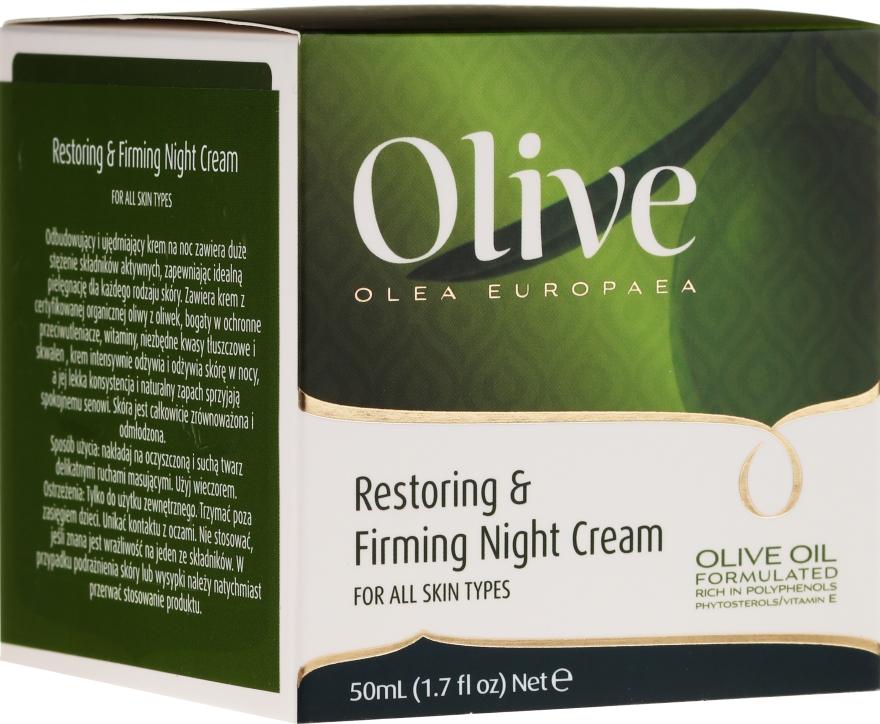 Crema viso rivitalizzante e rassodante da notte - Frulatte Olive Restoring Firming Night Cream