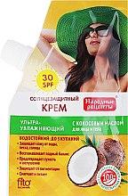Profumi e cosmetici Crema solare all'olio di cocco SPF30 - Fito Cosmetic Ricette popolari