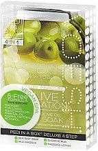 """Profumi e cosmetici Set pedicure """"Oliva"""" - Voesh Pedi In A Box Deluxe Pedicure Olive Sensation (35 g)"""