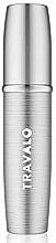 Profumi e cosmetici Atomizzatore, argentato - Travalo Lux Silver Refillable Spray