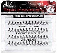 Profumi e cosmetici Ciglia finte a ciuffetti - Ardell Triple Individual Medium Black