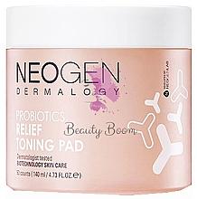 Profumi e cosmetici Patch tonificanti probiotici - Neogen Dermalogy Probiotics Relief Toning Pad