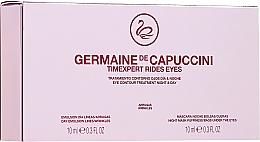 """Profumi e cosmetici Trattamento occhi """"Giorno e notte"""" - Germaine de Capuccini Timexpert Rides Eye Contour Treatment Night & Day (2 x 10 ml)"""