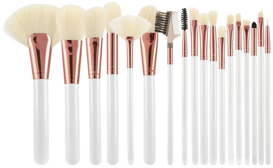 Set pennello trucco, 18 pz - Tools For Beauty