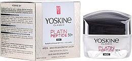 Profumi e cosmetici Crema da notte pelle normale e mista - Yoskine Classic Platin Peptide Face Cream 50+