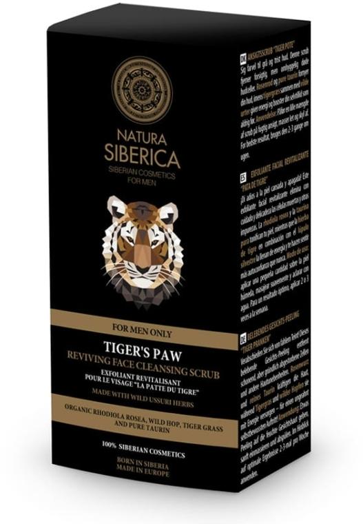 """Scrub rivitalizzante per il viso """"Tiger's Paw"""" - Natura Siberica For Men Tiger's Paw Reviving Face Cleansing Scrub — foto N2"""