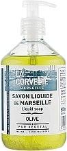 """Profumi e cosmetici Sapone liquido """"Olive"""" - La Corvette Liquid Soap"""