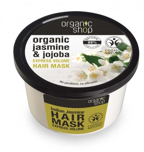 """Maschera capelli """"Gelsomino e jojoba"""" - Organic Shop Organic Jasmine and Jojoba Hair Mask"""