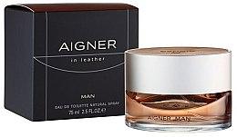 Profumi e cosmetici Aigner In Leather Man - Acqua di colonia
