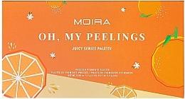 Palette di ombretti - Moira Oh, My Peelings Palette Pressed Pigments Palette — foto N2
