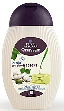 Profumi e cosmetici Gel doccia - Felce Azzurra Benessere Wellness Shower Gel Cotton Oil