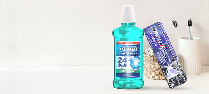 Acquistando prodotti Blend-a-med, Blend-A-Dent e Oral-B per un importo di 6 €, ricevi in regalo un dentifricio