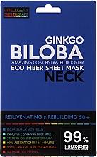 Profumi e cosmetici Maschera express per il collo - Beauty Face IST Rejuvenating & Rebuilding Neck Mask Ginkgo Biloba