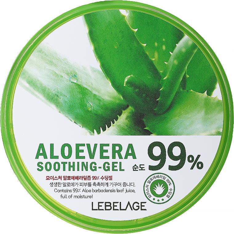 Gel idratante all'aloe - Lebelage Moisture Aloe Vera 99% Soothing Gel