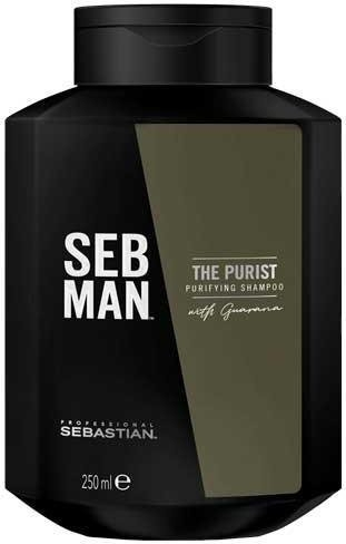 Shampoo per capelli - Sebastian Professional Seb Man The Purist Purifying Shampoo