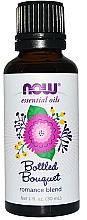 "Profumi e cosmetici Olio essenziale ""Miscela romantica. Bouquet di miscela di oli"" - Now Foods Essential Oils Bottled Bouquet Oil Blend"