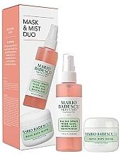 Profumi e cosmetici Set - Mario Badescu Rose Mask & Mist Duo Set (mask/56g+spray/118ml)