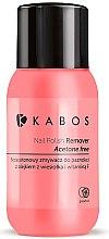 Profumi e cosmetici Solvente per unghie con pompelmo - Kabos Nail Polish Remover