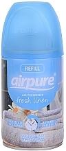 """Profumi e cosmetici Deodorante per ambienti """"Freschezza"""" - Airpure Air-O-Matic Refill Fresh Linen"""