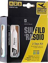 Profumi e cosmetici Set - Proraso Sul Filo Del Rasoio 2 Days Kit (gel/10ml + cr/10ml + cr/10ml + treat/2x10ml)