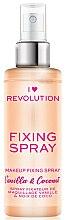 Profumi e cosmetici Spray fissante per il trucco - I Heart Revolution Fixing Spray Vanilla & Coconut