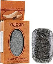 Profumi e cosmetici Pietra pomice, 98x58x37 mm, Dark Grey - Vulcan Pumice Stone
