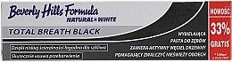 Profumi e cosmetici Dentifricio - Beverly Hills Formula Natural White Total Breath Black